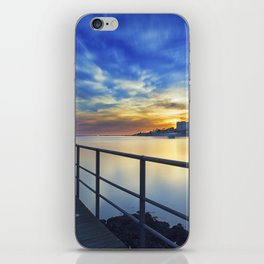 Smooth river. iPhone Skin