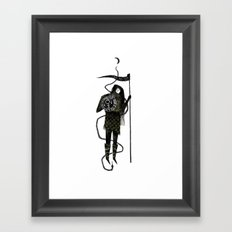 Warrior Princess Framed Art Print