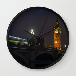 Night and the City Wall Clock