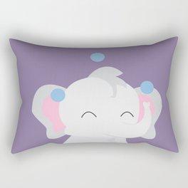 Juggling - Elephant Rectangular Pillow