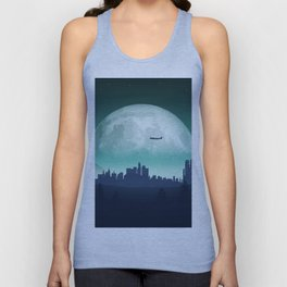 Nature at night Unisex Tank Top