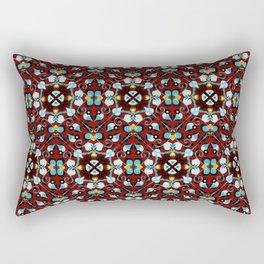 Abstract flower 8g Rectangular Pillow