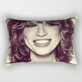 Carly Simon, Singer Rectangular Pillow