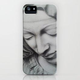 Piedad iPhone Case