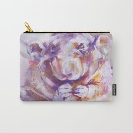 Purple Rat Carry-All Pouch
