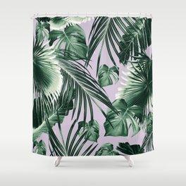 Tropical Jungle Leaves Dream #8 #tropical #decor #art #society6 Shower Curtain