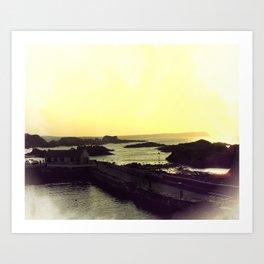 Ballintoy Art Print
