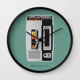 Mattel Auto Race, 1976 Wall Clock