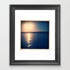 SOFT WATER Framed Art Print