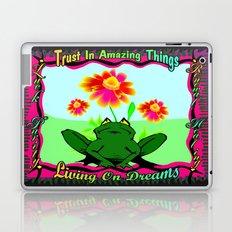 Living On Dreams Laptop & iPad Skin