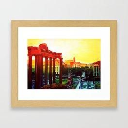 Forum Romanum Framed Art Print
