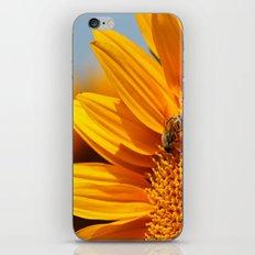 Sunflower & Bee iPhone Skin