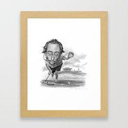 """Salvador Shuffle"" Framed Art Print"