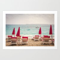 Caribbean Vacation Art Print