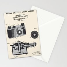 Camera Patent 1938 Stationery Cards