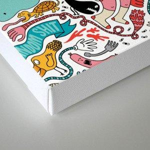 More, More, More Canvas Print