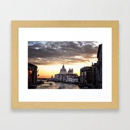 A view of Venice Framed Art Print