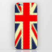 union jack iPhone & iPod Skins featuring Union Jack by deff