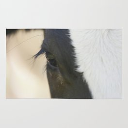Cow eyes PHOTOGRAPHY Rug