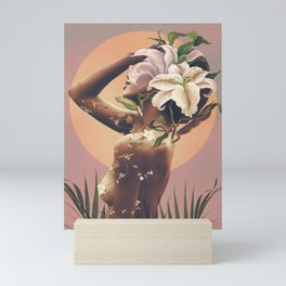 Floral beauty 3 Mini Art Print