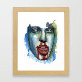 CREEPIN' Framed Art Print