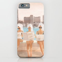 Hotel Morning iPhone Case
