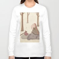 forrest Long Sleeve T-shirts featuring Forrest creatures by Loezelot