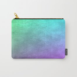 Aqua Sunset Carry-All Pouch