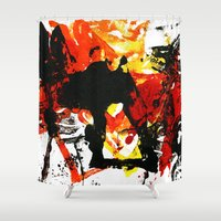into the wild Shower Curtains featuring Wild by Littlefox