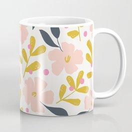 Stella's Garden Floral | Off White Coffee Mug