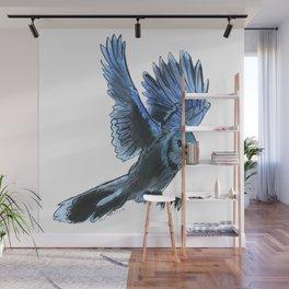 Bird Landing Wall Mural