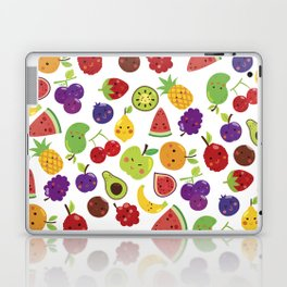 Funny colorful happy cute summer fruit pattern Laptop & iPad Skin