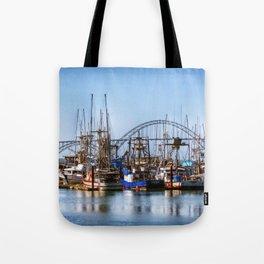 At Harbor Tote Bag