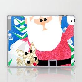 Santa and Rudolph Laptop & iPad Skin