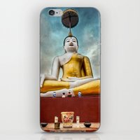 thailand iPhone & iPod Skins featuring Buddha Thailand by Adrian Evans