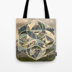 Geometric mountains 1 Tote Bag