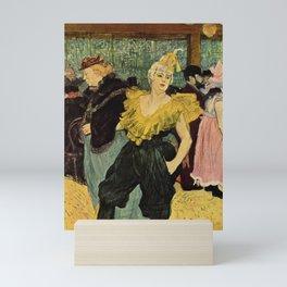 Henri De Toulouse-Lautrec La Clownesse 1895 Mini Art Print