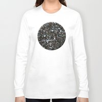the wire Long Sleeve T-shirts featuring Wire Bits by Lyssia Merrifield