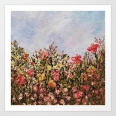 The Coral Garden Art Print