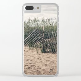 A Beach Day Clear iPhone Case