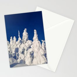 snow giants Stationery Cards