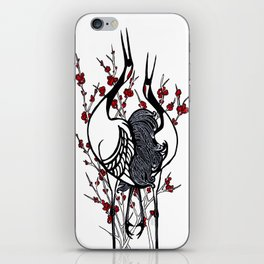 Quince Cranes iPhone Skin