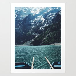 Boating Day Art Print
