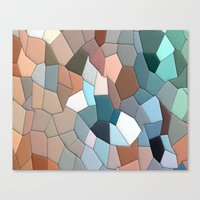 mosaic Canvas Prints featuring mosaic  by  Agostino Lo Coco