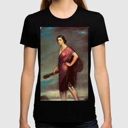 Classical Masterpiece 'La Copla' by Julio Romero de Torres T-shirt