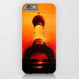 Lighthouse romance iPhone Case