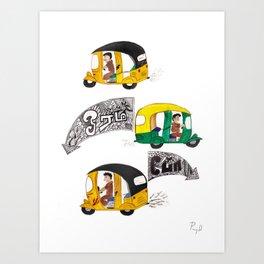 Autowala Art Print