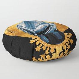 Saint DOOM Floor Pillow