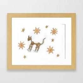 macanical cat Framed Art Print