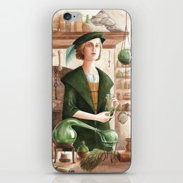 Hertha ~ A Compendium Of Witches iPhone Skin